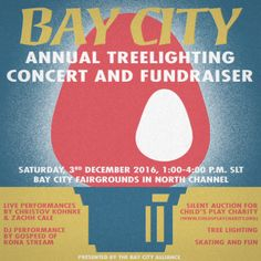 Bay City Tree Lighting and Charity Auction