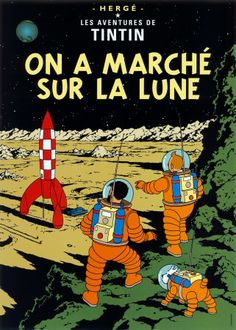 Tintin posters! And not the filthy desecration that is the new motion capture movie, either.