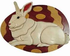 Fun with a scroll saw plus Easter decorating with this plan!