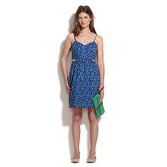 Rosette Cutout Cami Dress. Want this dress.
