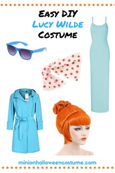 Lucy Wilde Despicable Me Costume - Minion Halloween Costume Agnes Costume, Gru Costume, Diy Minion Costume, Despicable Me Costume, Minion Halloween Costumes, Lucy Costume, Christmas Costumes, Halloween Outfits, Halloween Ideas