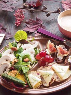 楓色のワンプレート朝ごはん の画像|Living with food +