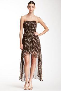 Alexia Admor Silk Hi-Lo Sheer Dress by Alexia Admor on @HauteLook