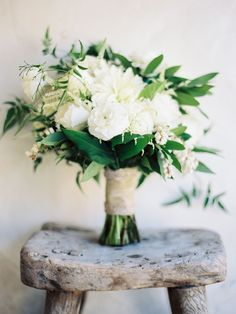 Photography: Ashley Kelemen - ashleykelemen.com Read More: http://www.stylemepretty.com/2015/02/16/elegant-fall-san-ysidro-wedding/