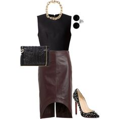 Untitled #1398 by jdawg12 on Polyvore featuring polyvore fashion style Alexander Wang Givenchy Christian Louboutin Versace Bridge Jewelry
