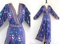 70s Rare India Sheer Cotton Gauze Boho Hippie by LuvStonedVintage, $550.00
