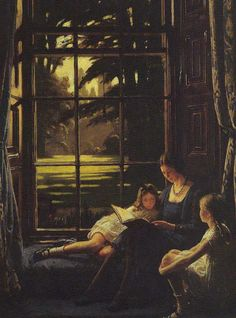 The Window Seat by Frederick William Elwell