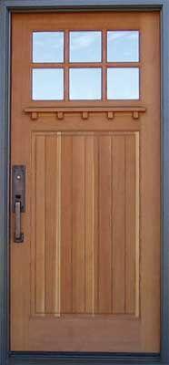 Custom Doors ~ Craftsman Style Doors, Style 60