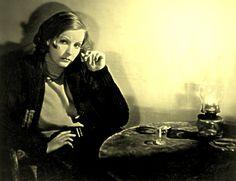 Greta Garbo in her first talking movie, Anna Christie