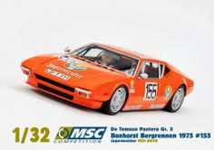 ManicSlots' slot cars and scenery: NEWS: MSC Competition De Tomaso Pantera Gr.3
