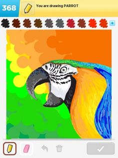 ds-parrotDraw Something | parrot