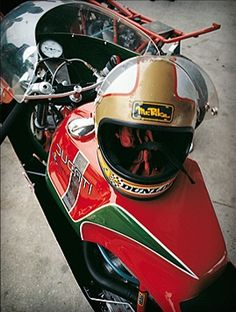 Hailwood's Moto Ducati, Ducati Cafe Racer, Ducati Motorcycles, Flying Ace, Old Bikes, Motorcycle Style, Classic Bikes, Vintage Racing, My Ride