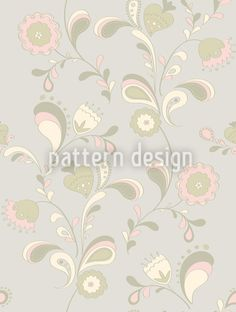 Paisley Flowers By Day Design Pattern Vector Pattern, Pattern Design, Paisley Flower, Seventies Fashion, Delicate, Patterns, Day, Illustration, Artwork
