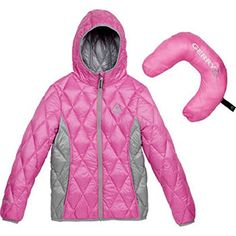 Gerry Girls' Packable Sweater Down Jacket * Check out this great product. We are a participant in the Amazon Services LLC Associates Program, an affiliate advertising program designed to provide a means for us to earn fees by linking to Amazon.com and affiliated sites.