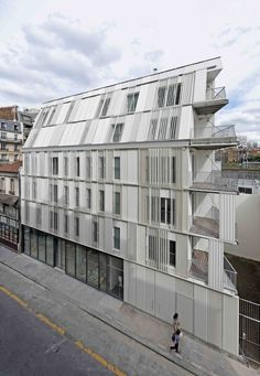 Gallery of Housing Units Castagnary / Dietmar Feichtinger Architectes - 10