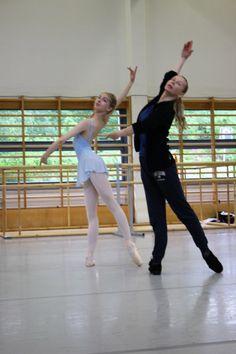 Vaganova Ballet Academy masterclasses at Pro Viva La Dance Ballet Academy in Finland