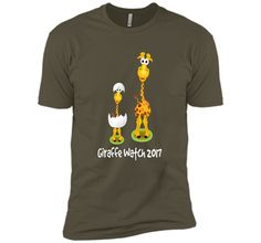 April The Giraffe T Shirt - Giraffe Watch 2017