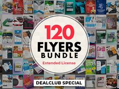 Kick start your next business with this collection of 120 high-quality flyer templates. These professional resources will help you save time and will definitely come in handy whenever you need Real Estate Flyer Template, Business Flyer Templates, Flyer Design Templates, Photography Flyer, Save The Date Templates, Real Estate Flyers, Creative Flyers, How To Attract Customers, Corporate Flyer