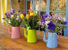 Basit Eşyalarla Balkon ve Bahçe Dekorasyonu