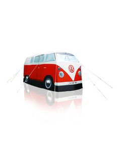 Red VW C&er Van Tent by The Monster Factory #  sc 1 st  Pinterest & NEW to eBay! Vintage Tomy Air Jammer Yellow VW Bug - Starting at ...