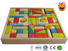 Building blocks toys / Children wooden blocks(KM1308)