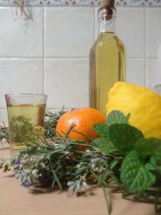 Delícias da Pipas: Licor de ervas aromáticas
