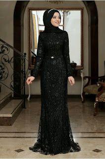 موديلات عبايات تركية Islamic Dress Hijab Fashion Engagement Dresses