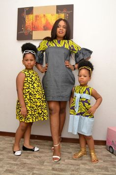 2019 Well Designed Ankara for kids Ankara Styles For Kids, African Dresses For Kids, Latest African Fashion Dresses, African Inspired Fashion, African Print Dresses, African Print Fashion, Ankara Fashion, African Prints, African Attire