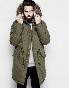 Parka: el abrigo para hombre 2015  Otoño - invierno www.elpersonalshopper.com