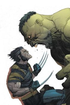 Hulk e Wolverine