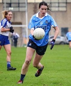 Dublin Ladies Footballers got back to winning ways in Division 1 of the LIDL National League with a to victory over Monaghan in Clones this afternoon. Play S, Semi Final, National League, Dublin, Victorious, Finals, Football, Running, Lady