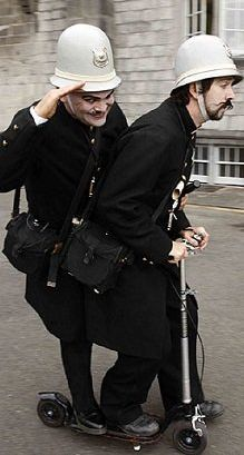 The Keystone Cops- British Entertainment