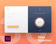Ознакомьтесь с этим проектом @Behance: «30 Days Marathon in Adobe XD» https://www.behance.net/gallery/45826005/30-Days-Marathon-in-Adobe-XD