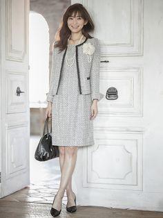 スタイリング画像 Asian Fashion, Work Outfits, Girly, Chic, Clothes, Dresses, Style, Asian Style, Women's