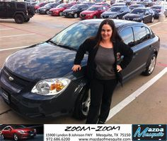 https://flic.kr/p/A3iGVx | Happy Anniversary to Aurora on your #Chevrolet #Cobalt from Jim klick at Mazda of Mesquite! | deliverymaxx.com/DealerReviews.aspx?DealerCode=B979