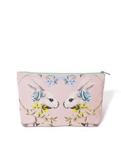 Forest Blossom Rabbit Pencil Case design by imm Living