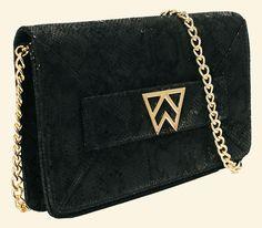 The Kelly Wynne Forever Classy Clutch in Jet Black Boa -- preorder yours now at >>>WWW.KELLYWYNNE.COM<<<
