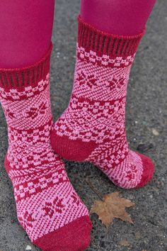 Sock Dreams - Juneau Fairisle Crew - Unique Colorful Socks