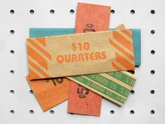 old coin wraps