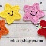 Free Crochet Applique Patterns - Karla's Making It Crochet Applique Patterns Free, Crochet Flower Patterns, Crochet Motif, Crochet Flowers, Crochet Appliques, Knitting Patterns, Crochet Gifts, Cute Crochet, Crochet Dolls
