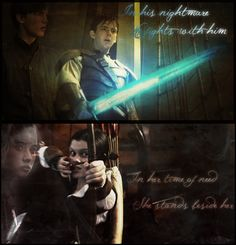 I love the way the younger kids use the older kids' weapons in their last battle in Narnia. :')