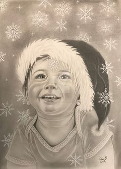 Snow Miracle by on DeviantArt E Motion, Snow, Deviantart, Drawing, Flakes, Graphite, Christmas, Beleza, Sketches