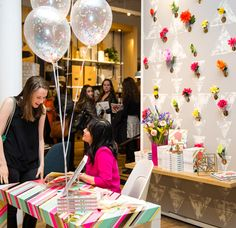 bureau rayé : Oh Joy Book Party / New York