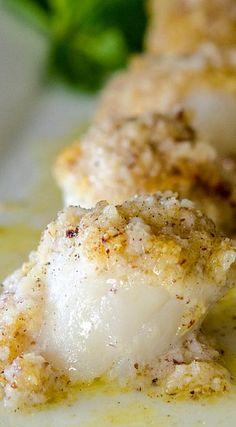 Scallops with Hazelnut Butter