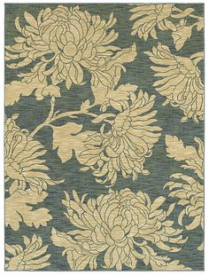 """HGTV Home Area Rug in style """"Mums the Word"""" color blue - Flooring by Shaw Floor Art, Floor Rugs, Carpet Flooring, Rugs On Carpet, Carpets, Shaw Rugs, Mums The Word, Plush Carpet, Blue Floor"""