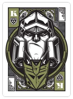 Playing card design by Hydro74. There is a whole series of these.