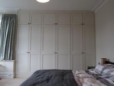 fitted wardrobes ealing - Covering chimney breast