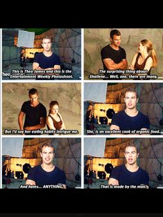 Theo and Shai haha this interview >>>