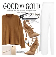 """""""Untitled #1957"""" by anarita11 ❤ liked on Polyvore featuring H&M, Miss Selfridge, Sam Edelman, Mansur Gavriel, ZeroUV, NARS Cosmetics and Christian Dior"""
