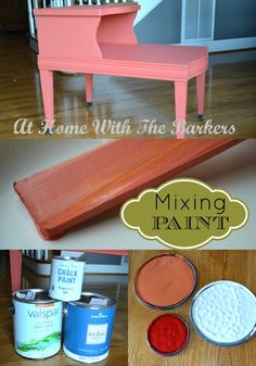 Mixing Your Own Paint Color #paintprojects #homedecor